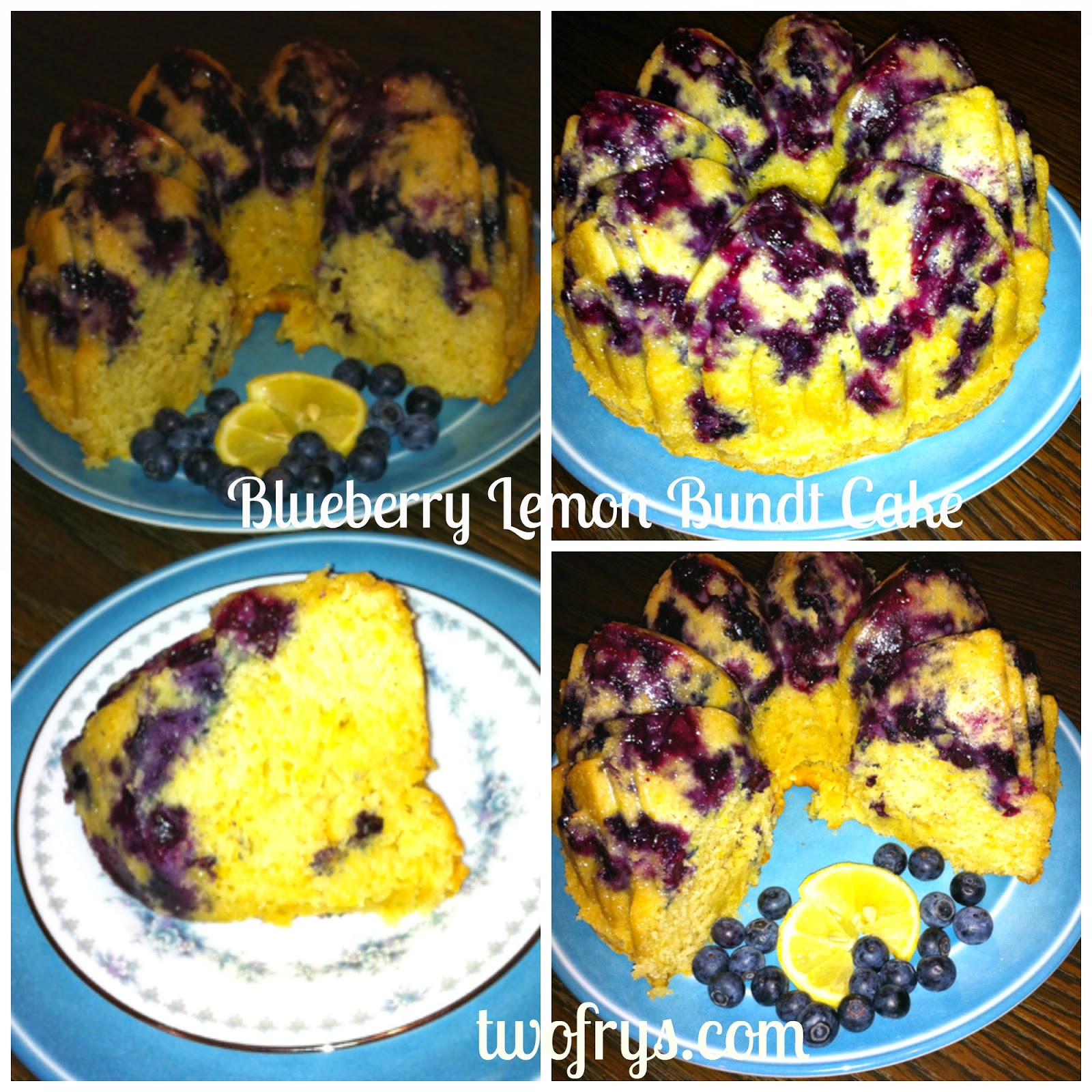 Two Frys: Blueberry Lemon Bundt Cake
