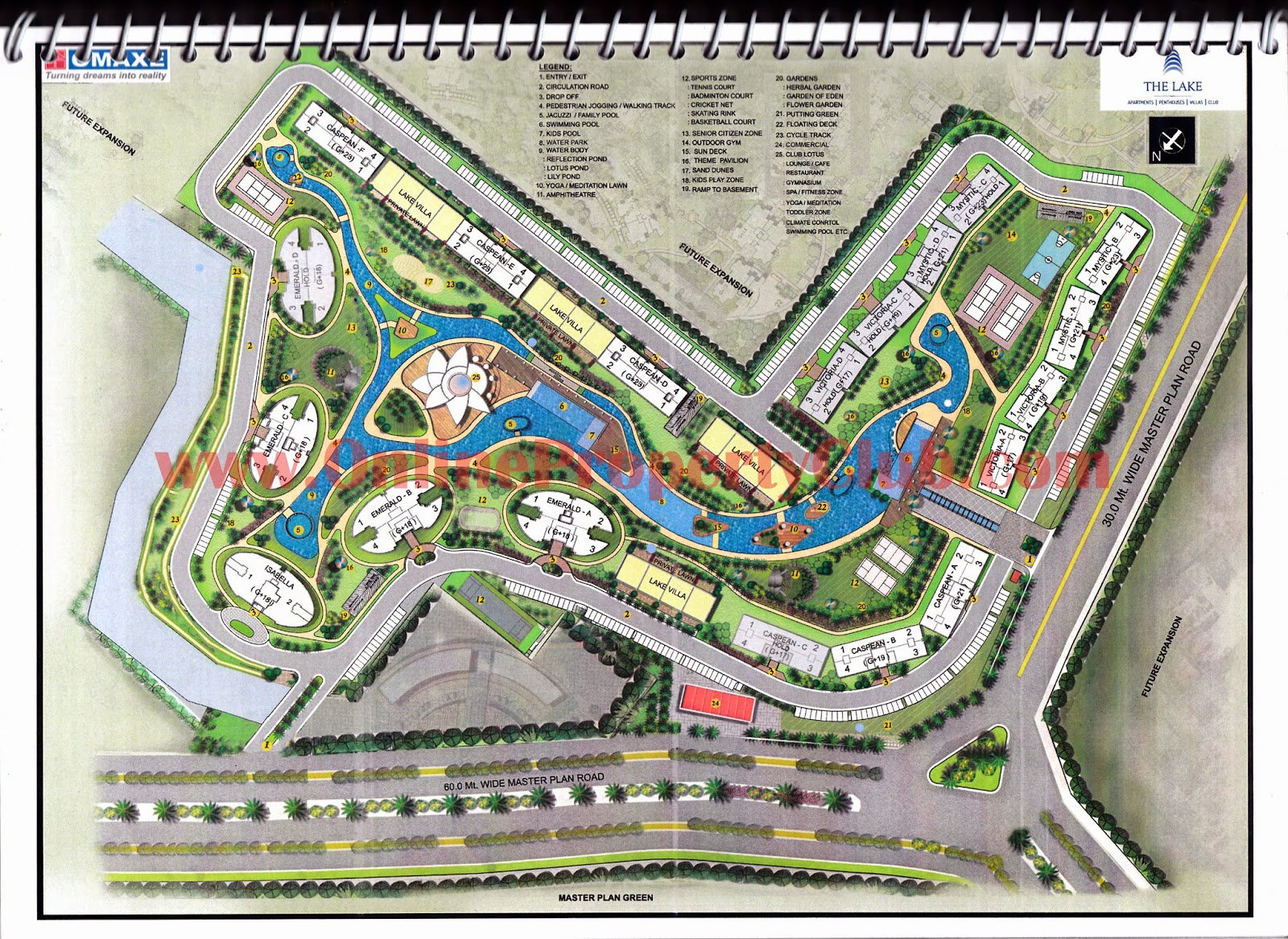 omaxe highrise flats mullanpur layout map