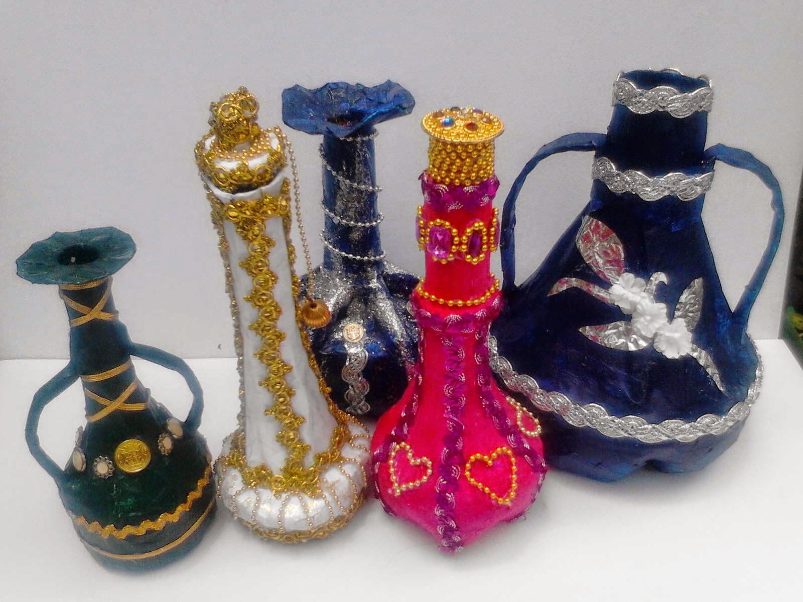 Manualidades Eliza Botellas Desechables Decorativas