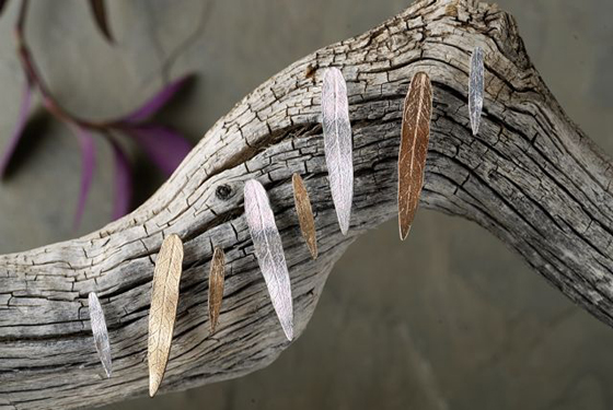 Colby June Jewelry's new Leaf Collection