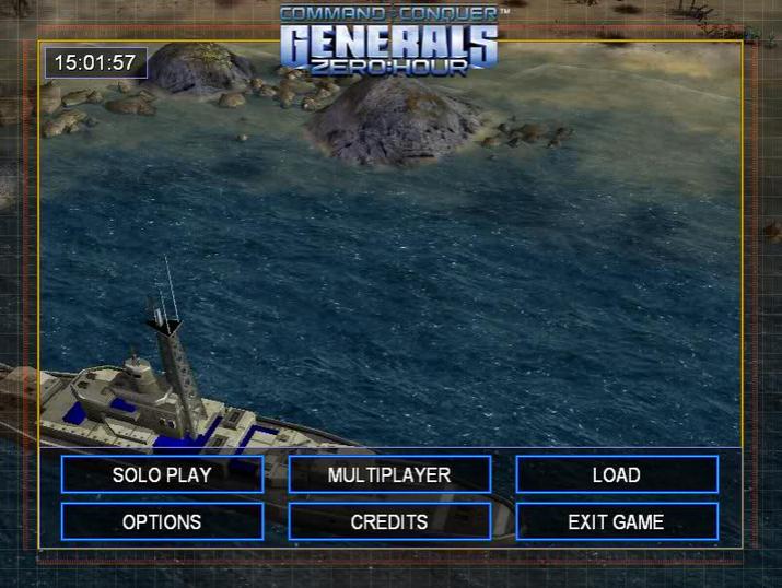 تحميل لعبة Command and Conquer Generals full- Zero Hour برابط مباشر