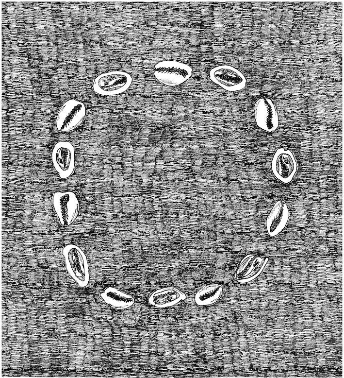Ilustração para o grupo Ilù Àiya Drummers (2013)