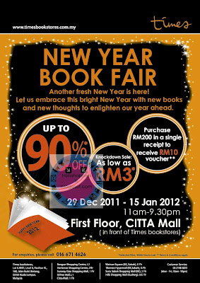 Times Bookstore New Year Book Fair