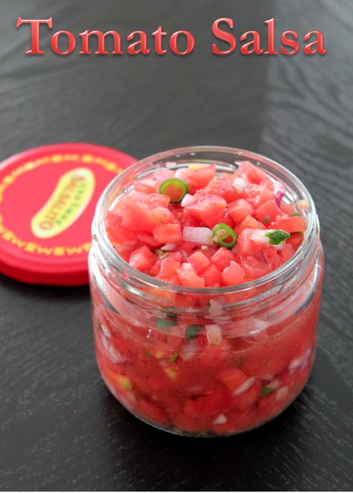Jaya's recipes: Tomato Salsa