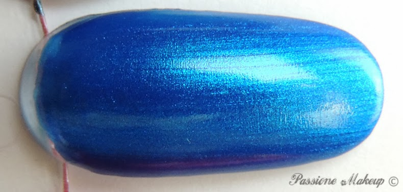 Kiko Laser Nail Lacquer Psychedelic Blue