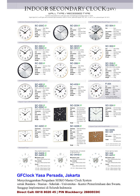 SEIKO Slave Clock