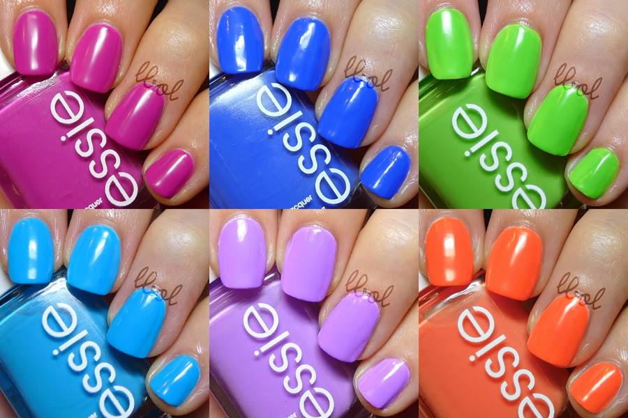 Essie Summer Neon Collection 2014 Swatches