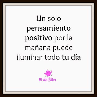 Lunes Positivos - Piensa en positivo