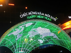 New Year's eve in Vietnam