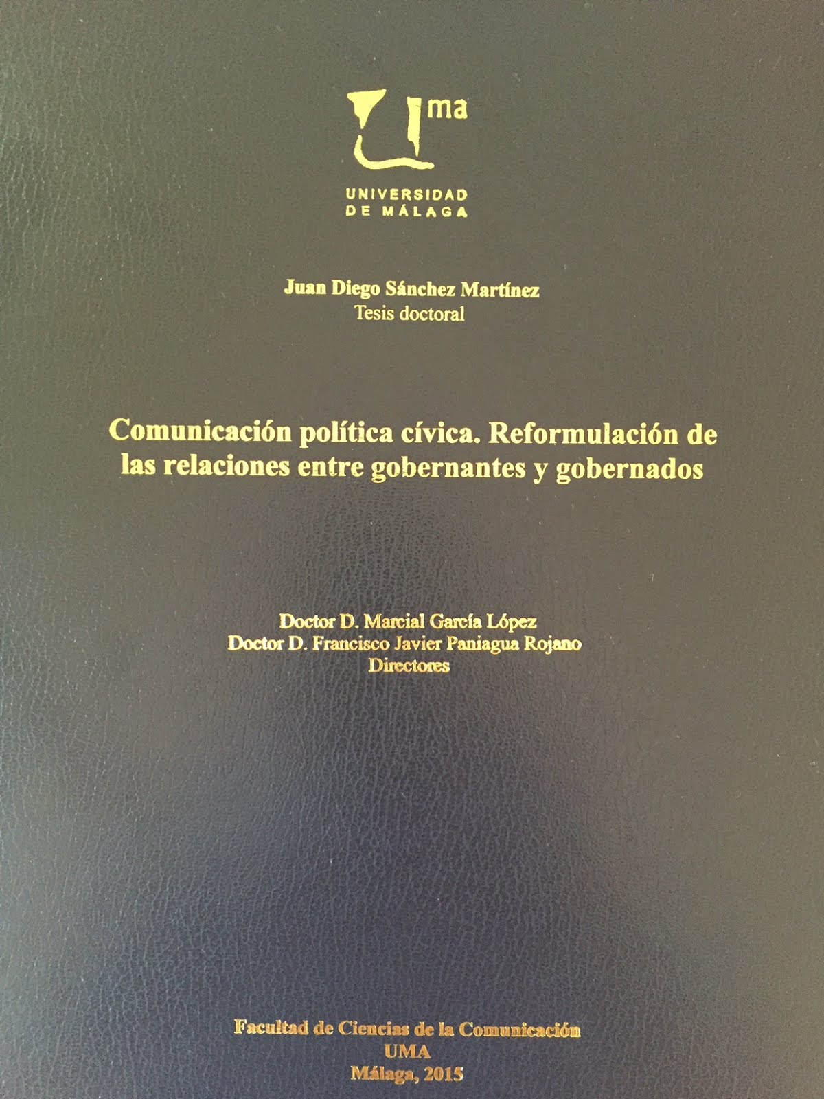 Mi tesis doctoral