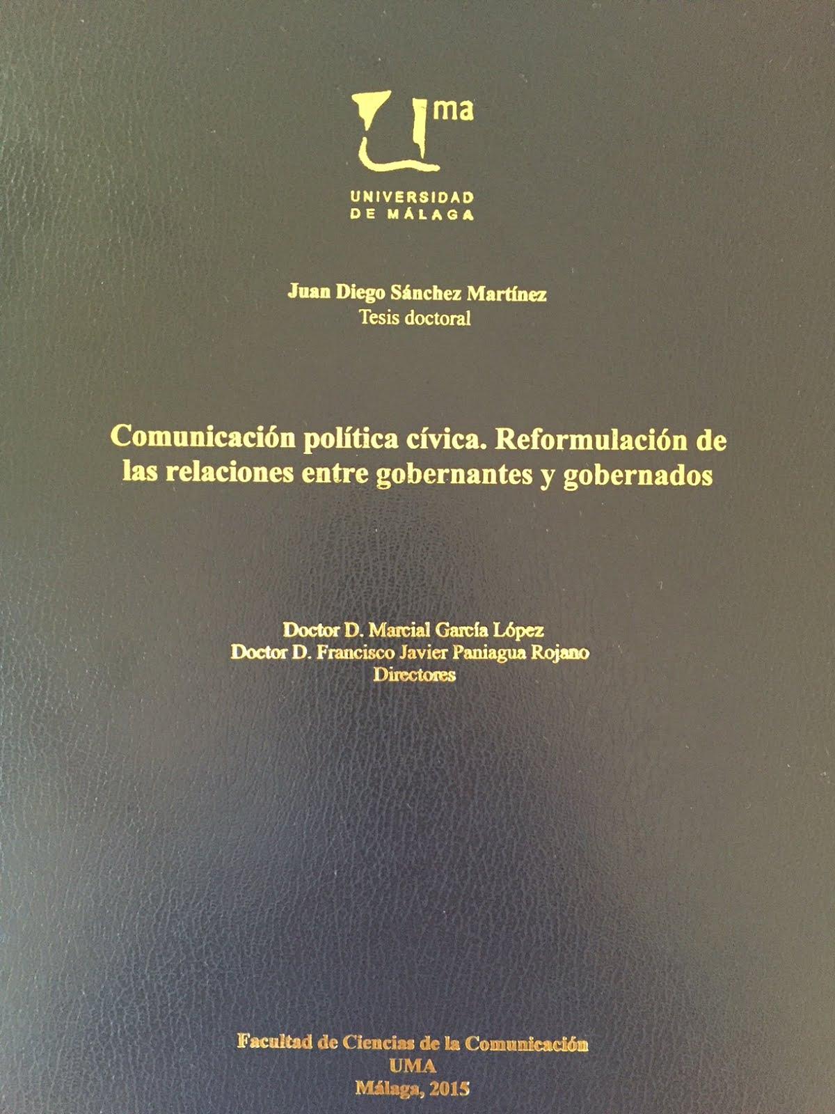 Mi tesis doctoral