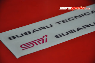 Subaru Tecnica International - STI Door Sticker OEM / decal / vinyl