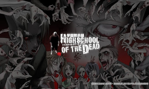 TOP ANIMES: HIGHSCHOOL OF THE DEAD