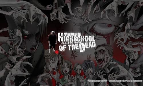 TOP ANIMES: HIGHSCHOOL OF THE DEAD