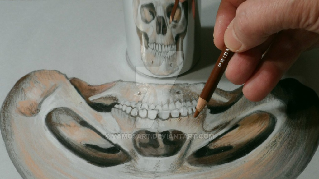 13-Skull-Anamorphosis-Sandor-Vamos-3D-Optical-Illusions-Anamorphic-Drawings-Videos-www-designstack-co