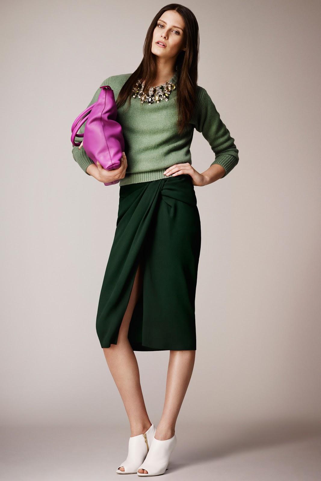 Burberry Prorsum Resort 2014 via fashioned by love / british fashion blog