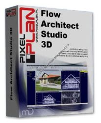 PixelPlan Flow Architect Studio 3D 1.7.4 Build 15.1.2013.317