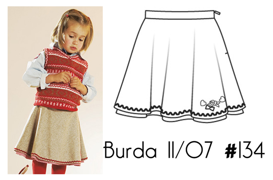 Burda-11-07-134-skirt