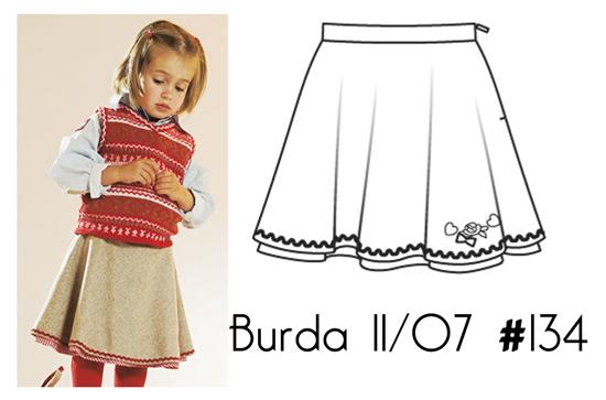 Burda-11-07-134-skirt