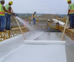 Curing beton