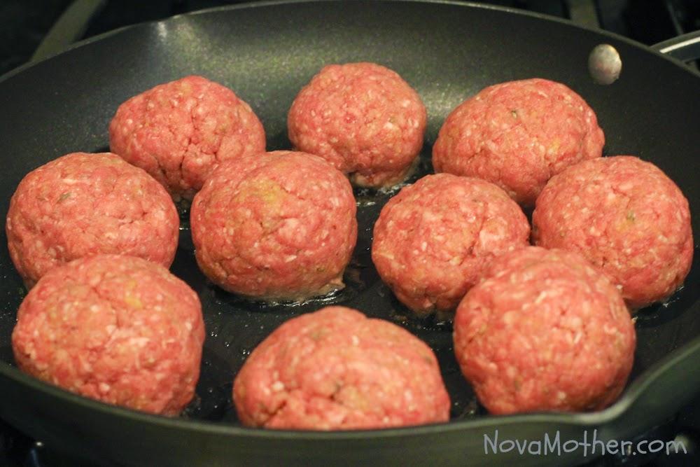 Easy Homemade Italian Style Meatballs