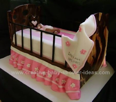 crib cake for child