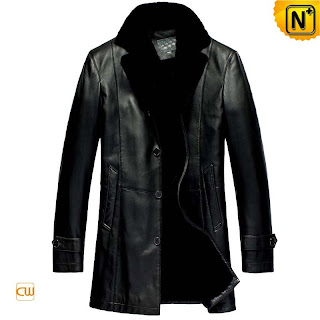 Mens Long Sheepskin Coat