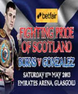 Ricky Burns Vs Jose Gonzalez (2013)