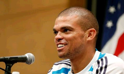 Pepe press confference at UCLA