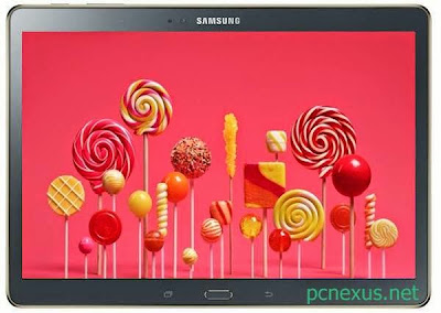 galaxy tab s 8.4 wi-fi lollipop