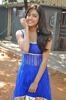 Actress Vithika Sheru Latest Pictures in Blue Salwar Kameez at Paddanandi Premalo Mari Movie First Look Launch  5.jpg