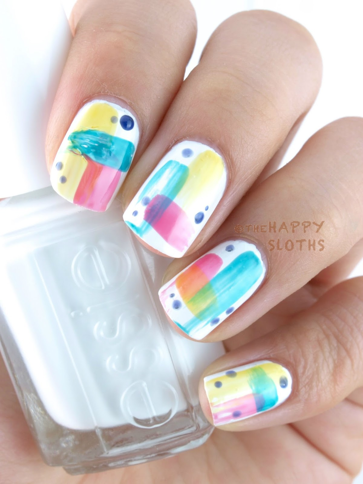 Essie Silk Watercolor Swatches - Worksheet & Coloring Pages