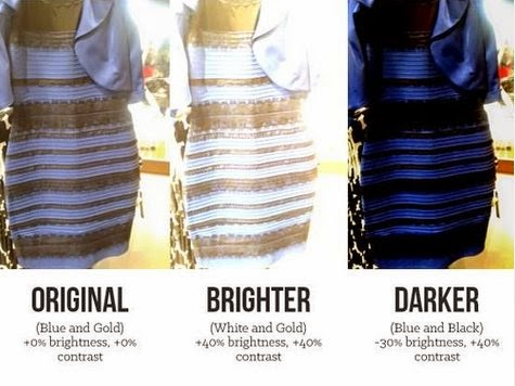 White-Blue-black-gold? What color is this dress