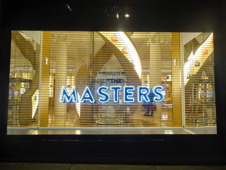 Selfridges Shop Window 2014 jul-aug The masters