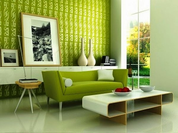 Green: The best colors for a modern house design