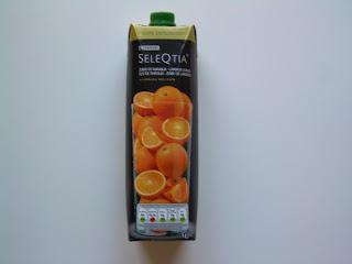 Zumo de naranja 100% exprimido EROSKI SELEQTIA