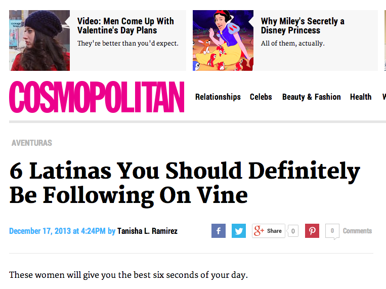 http://www.cosmopolitan.com/cosmo-latina/blog/best-latinas-on-vine