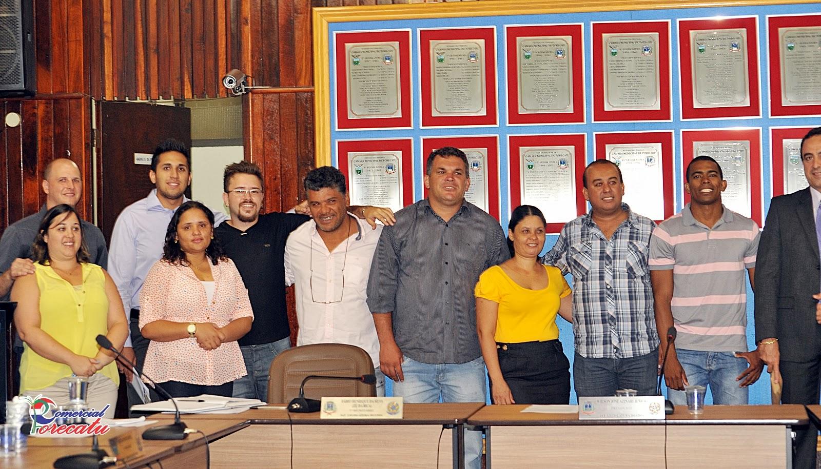 COMERCIAL PORECATU: Posse do Vereador Marcelo Coelho da Silva  Partido  #AA2222 1600 915