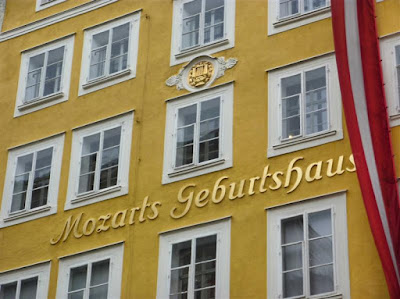 Casa donde nació Mozart