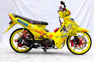 Modifikasi Motor Jupiter Z