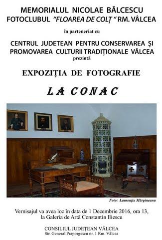 """Expoziția de fotografie """"LA CONAC"""""""