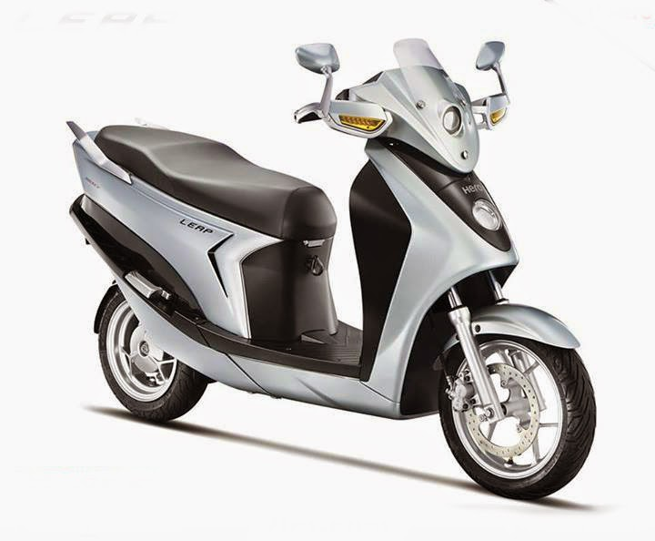 Hybrid Scooter Hero Leap 2015
