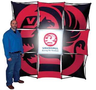 Xpressions PopUp Trade Show Display with Backlit Panel