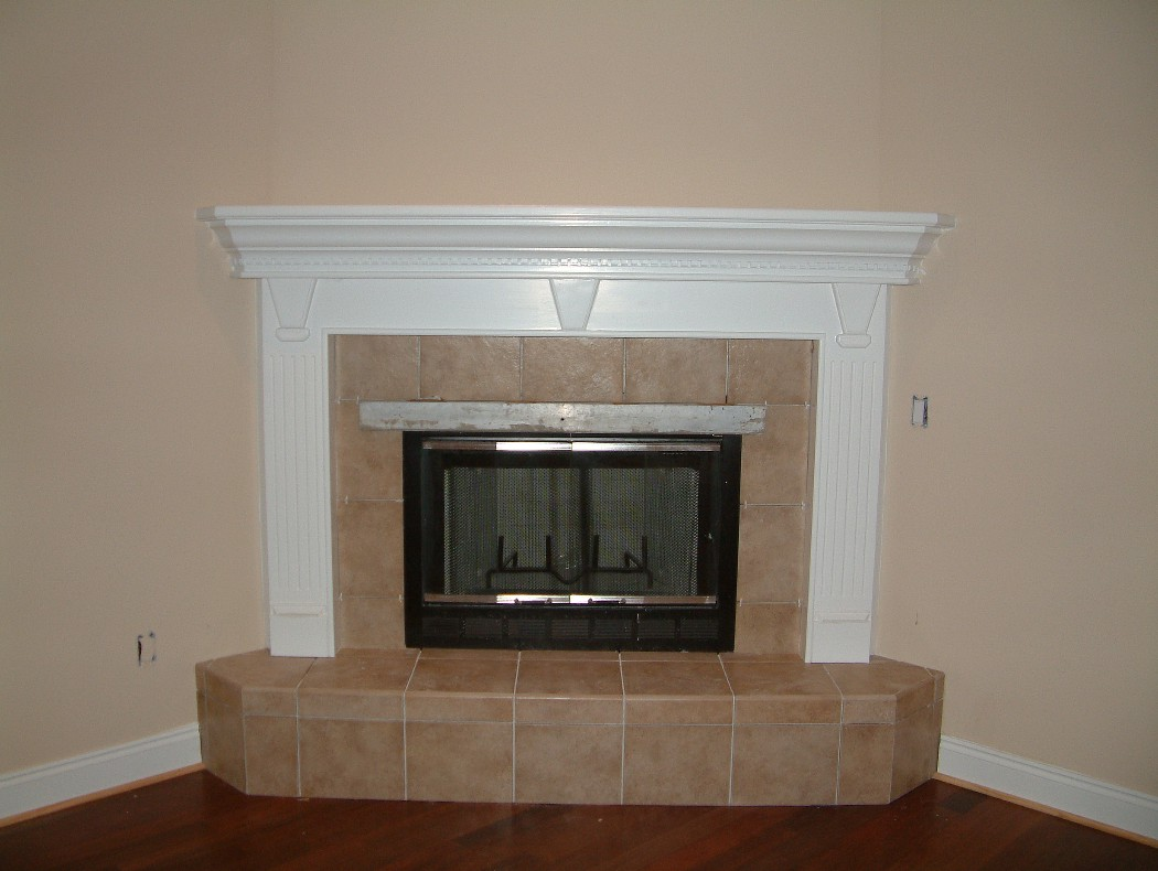Decoration Corner Fireplaces
