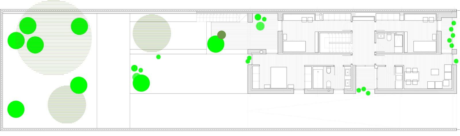 Baño Familiar Medidas:Arquitecto en Valencia planta primera