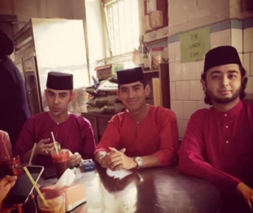 Sambutan Hari Raya Terakhir Tunku Jalil Bersama Bangsa Johor