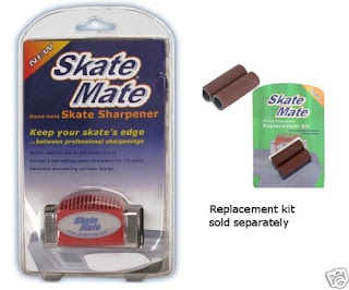 Breakaway SkateMate Ice Skate Sharpener & Repl. Kit