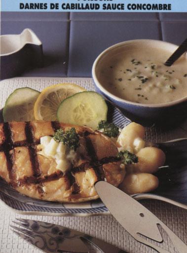 Le bon coin cuisine top de la meilleure recette facile de darnes de cabillaud sauce concombre - Recette cuisine gratuite ...