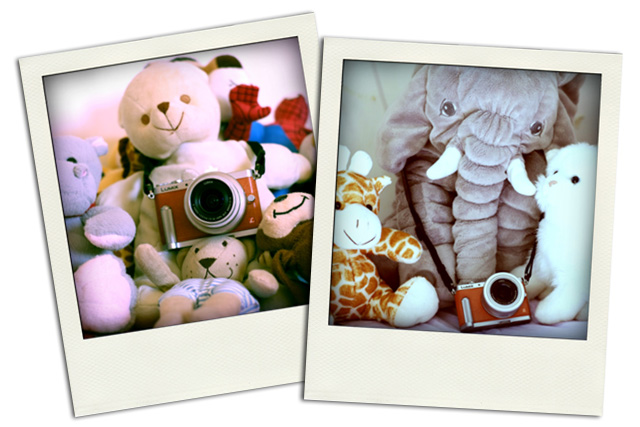 Fotografie polaroid della Panasonic GM1