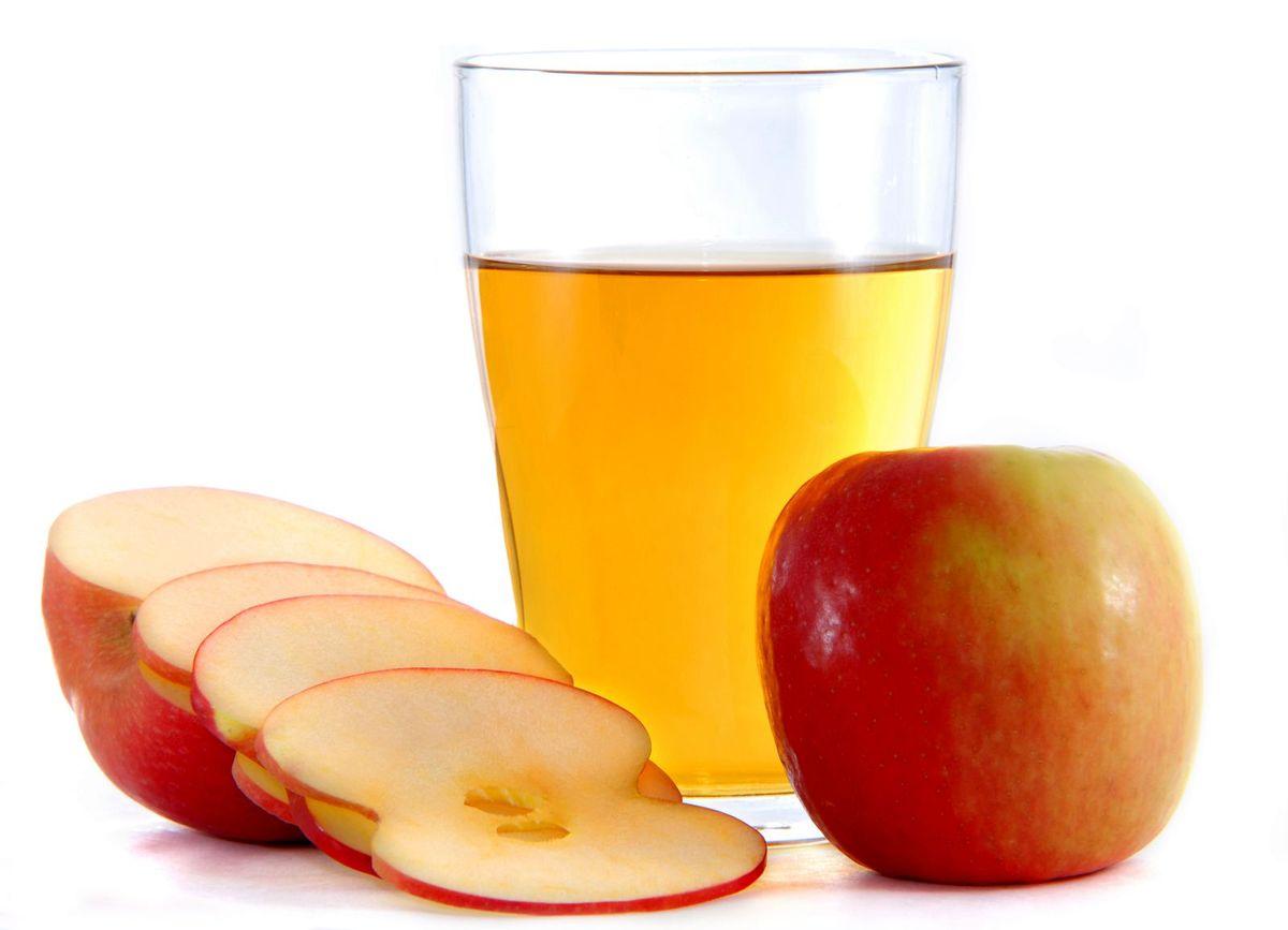 Vinagre de manzana gases
